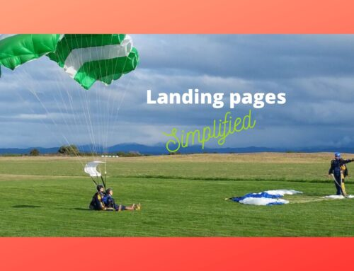 Campaign landing pages – why I choose to build them in WordPress